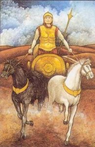 Full Moon in Aries - The Race